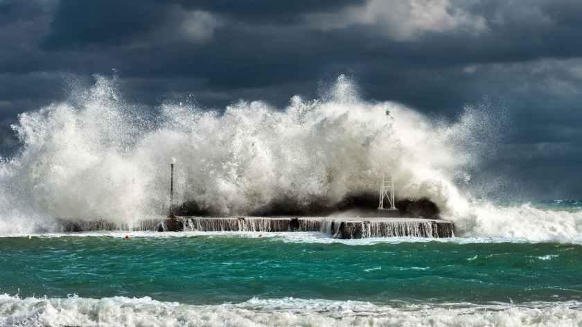 Una histórica marejada azotará a Puerto Rico. Marzo 5 2018