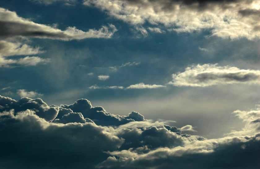 ..le veréis venir en las nubes