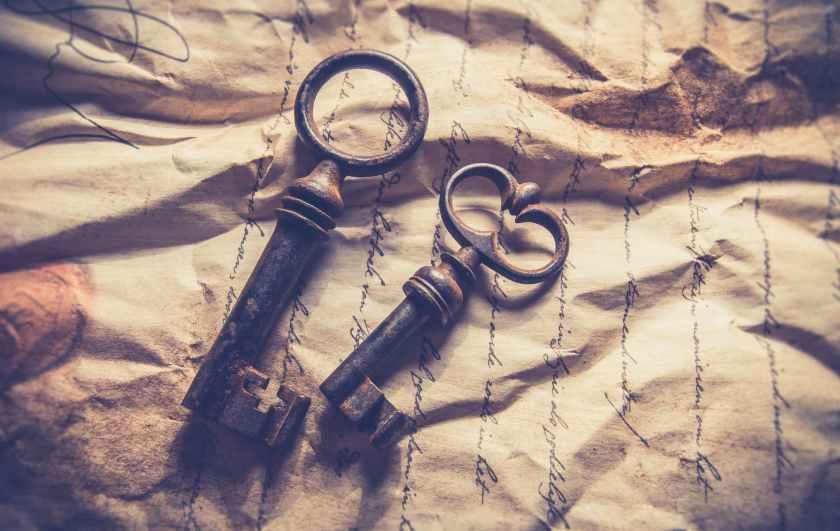 a tí daré las llaves del Reino..